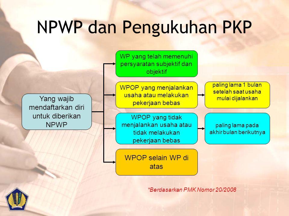 NPWP dan Pengukuhan PKP