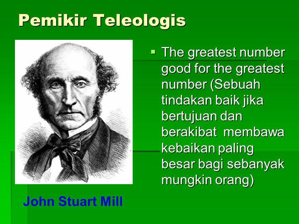 Pemikir Teleologis
