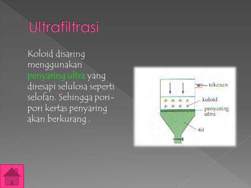 Ultrafiltrasi