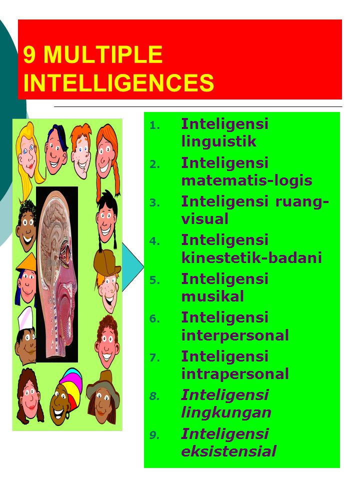 9 MULTIPLE INTELLIGENCES