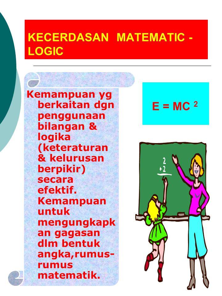 KECERDASAN MATEMATIC - LOGIC