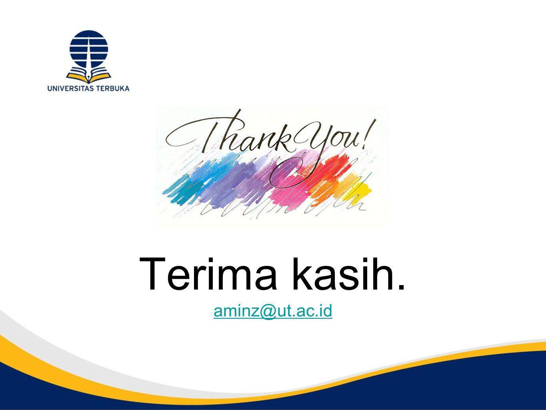 Terima kasih. aminz@ut.ac.id