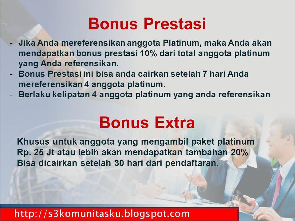 Bonus Prestasi Bonus Extra