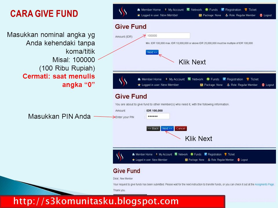 CARA GIVE FUND http://s3komunitasku.blogspot.com