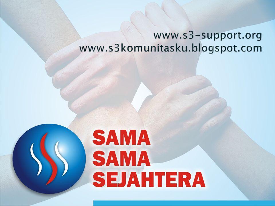 www.s3-support.org www.s3komunitasku.blogspot.com
