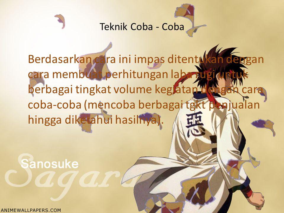 Teknik Coba - Coba