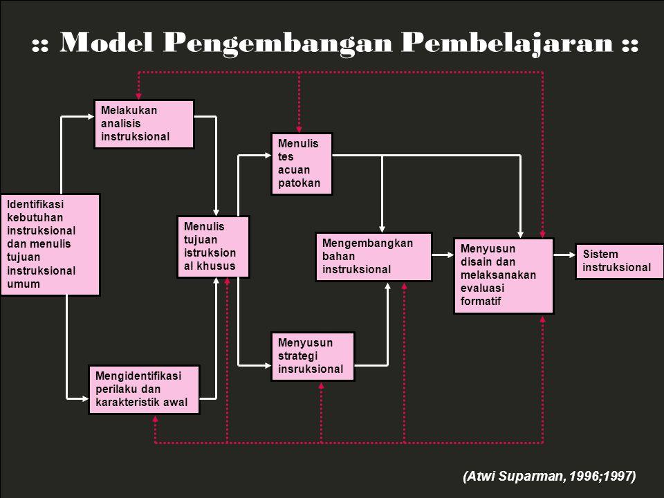 :: Model Pengembangan Pembelajaran ::