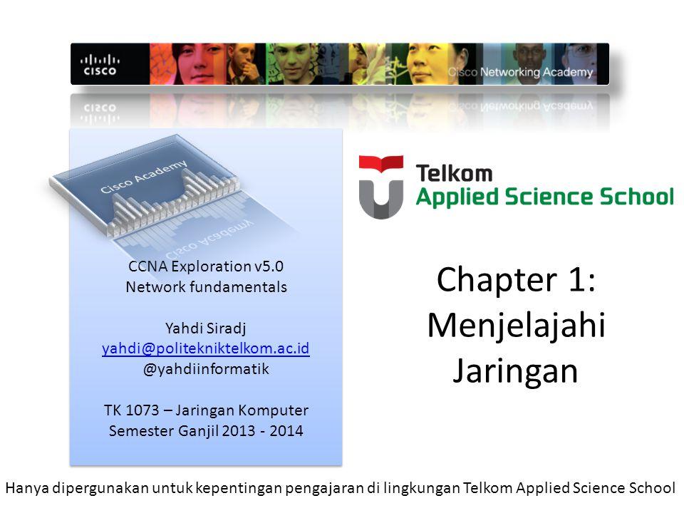 Chapter 1: Menjelajahi Jaringan