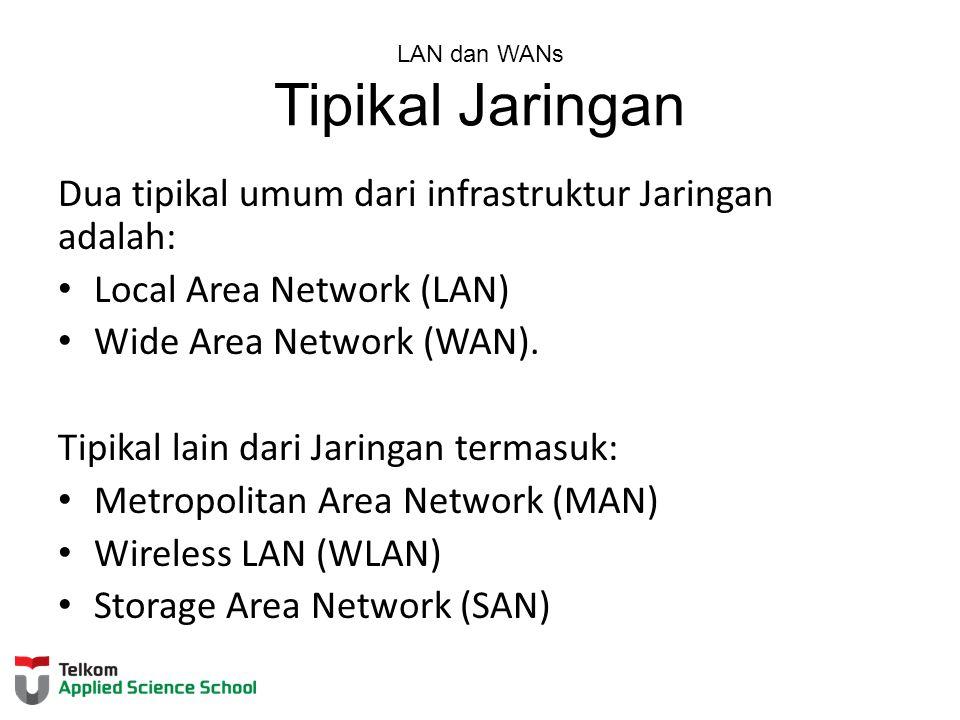 LAN dan WANs Tipikal Jaringan
