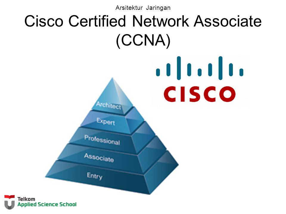Arsitektur Jaringan Cisco Certified Network Associate (CCNA)
