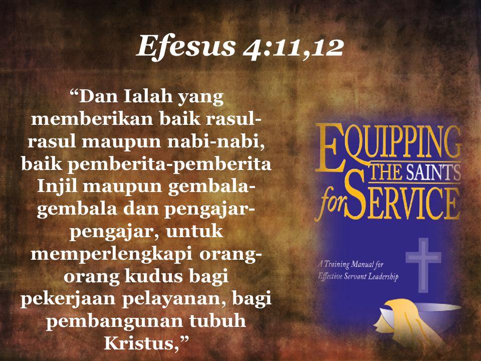 Efesus 4:11,12