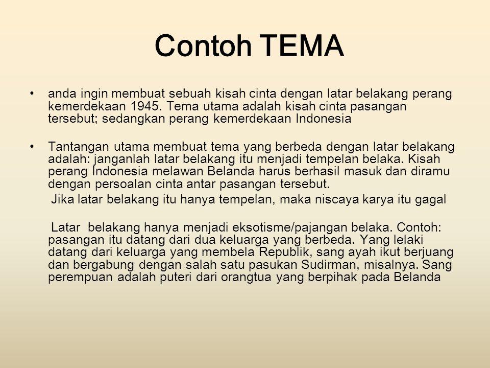 Contoh TEMA