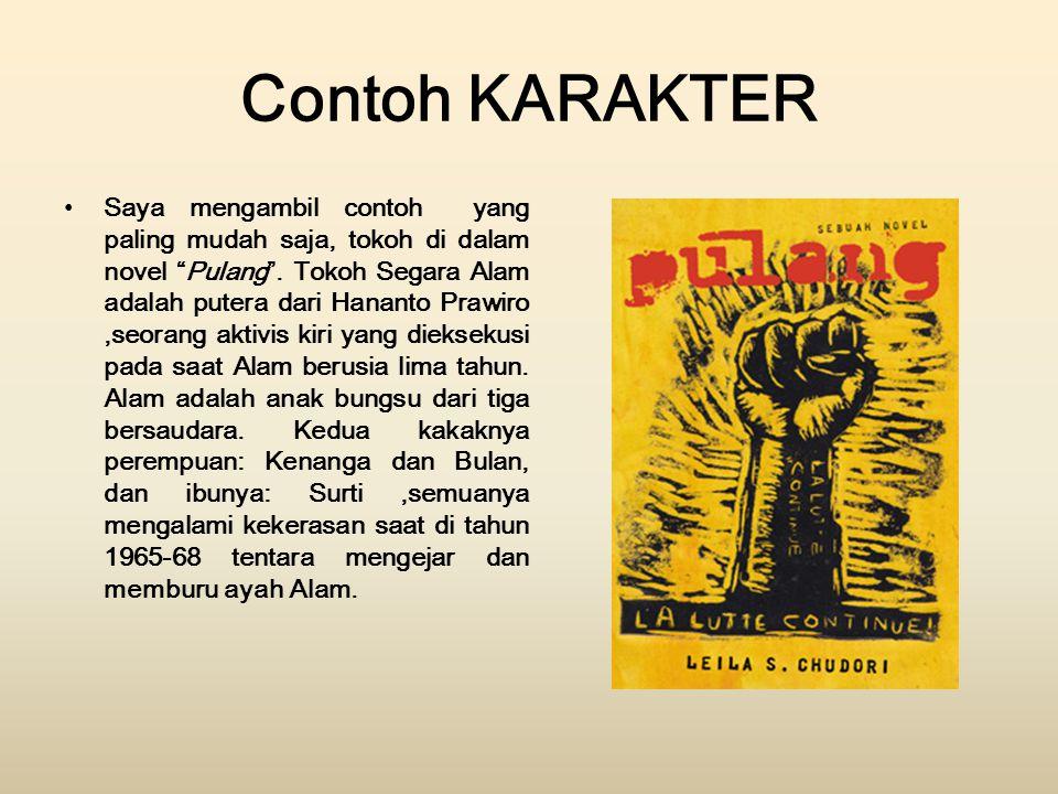 Contoh KARAKTER