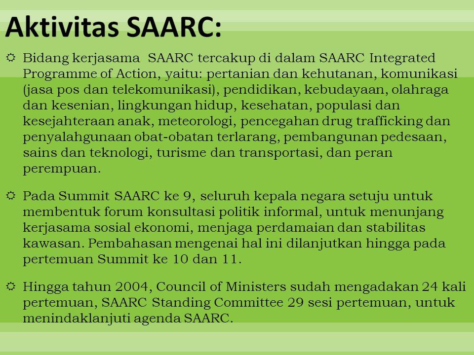 Aktivitas SAARC:
