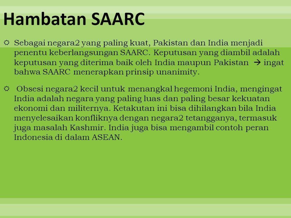 Hambatan SAARC