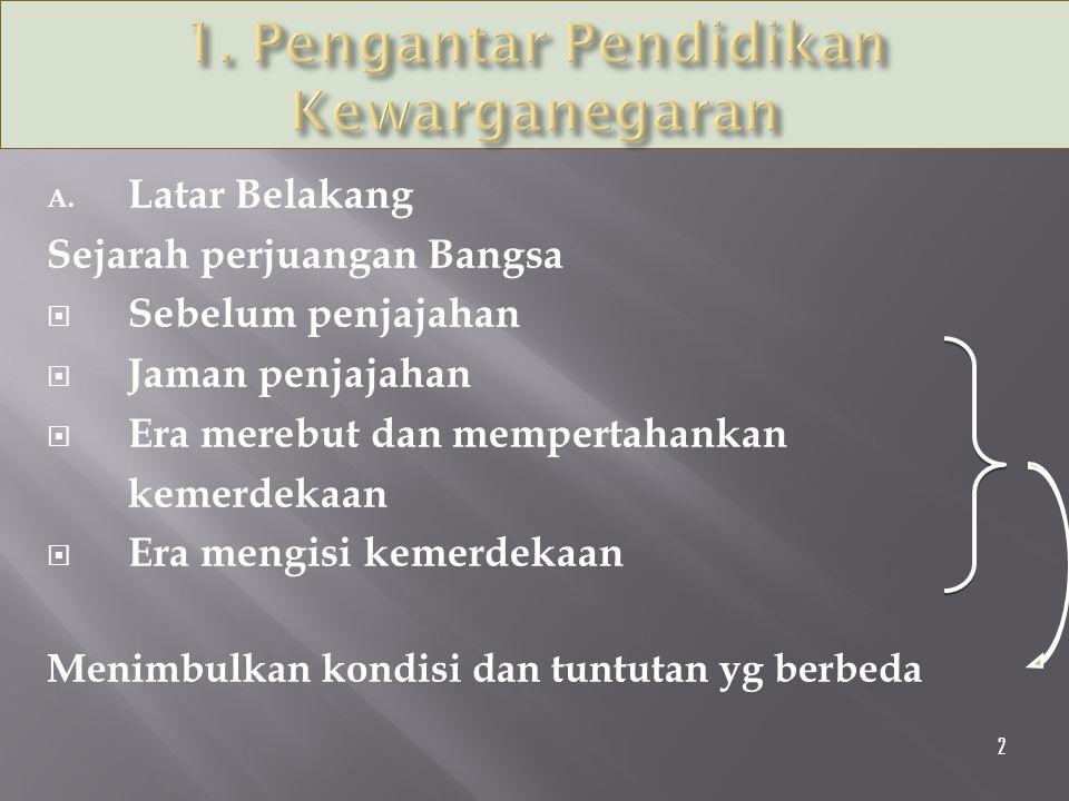 1. Pengantar Pendidikan Kewarganegaran