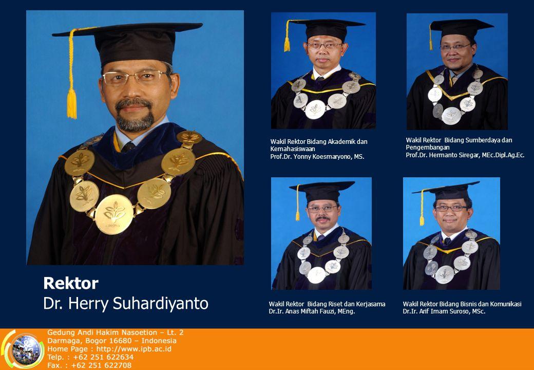 Rektor Dr. Herry Suhardiyanto
