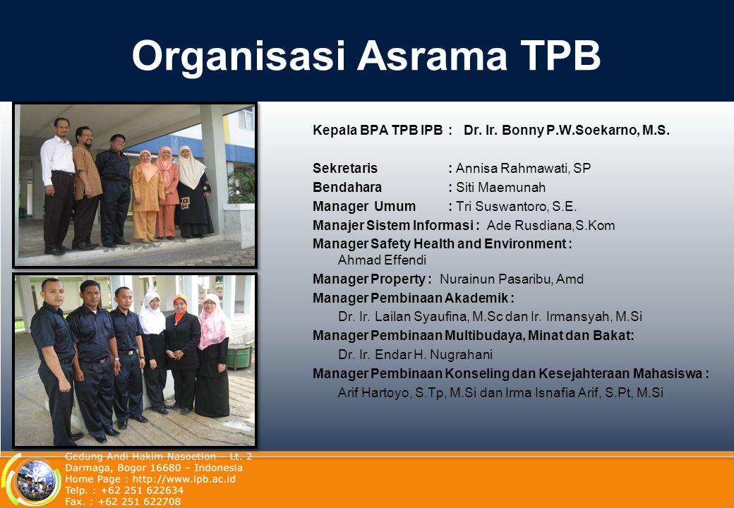 Organisasi Asrama TPB