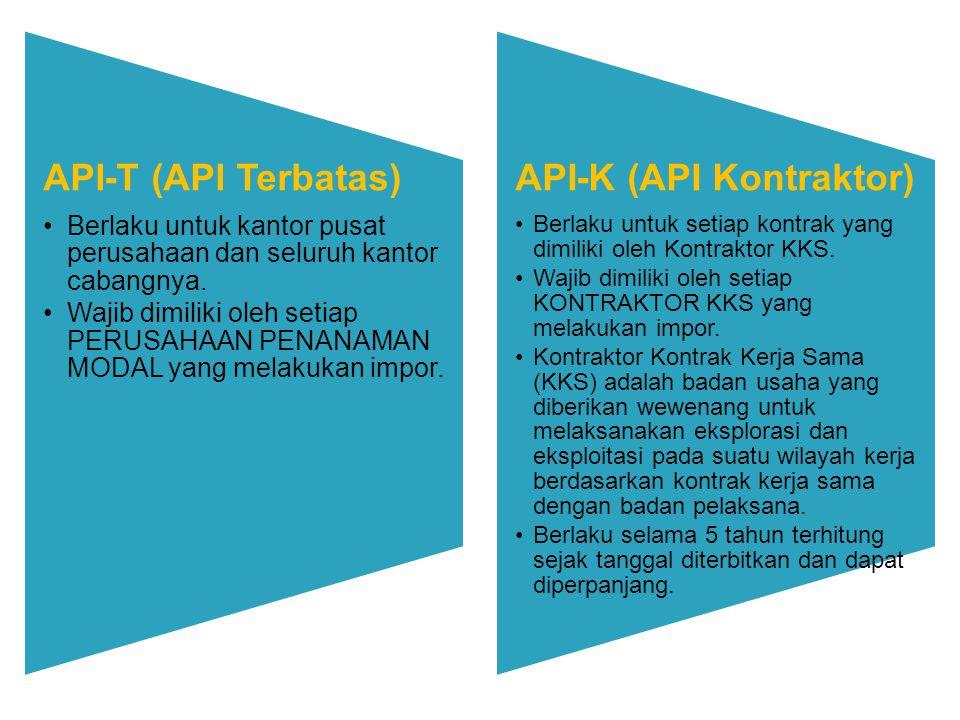 API-K (API Kontraktor)