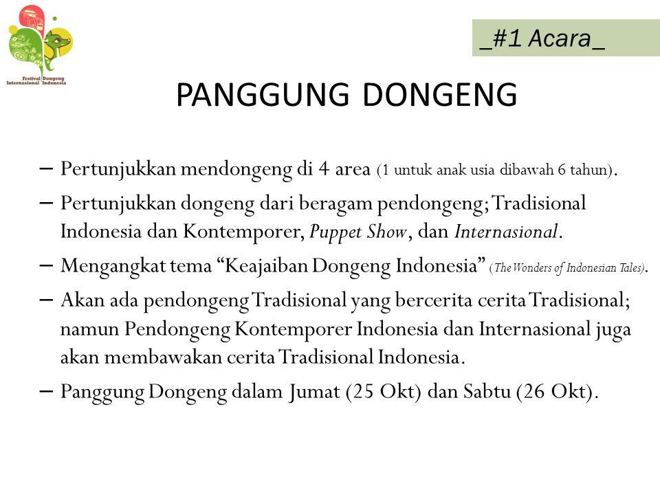 PANGGUNG DONGENG _#1 Acara_