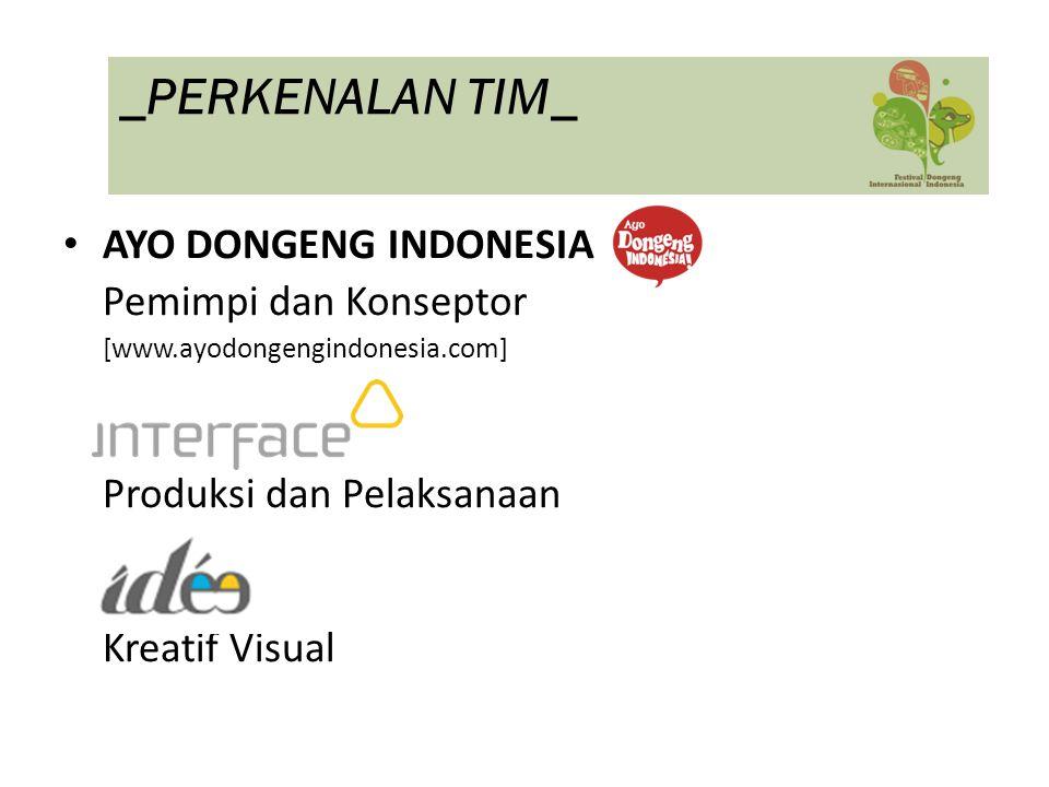 _PERKENALAN TIM_ AYO DONGENG INDONESIA Pemimpi dan Konseptor