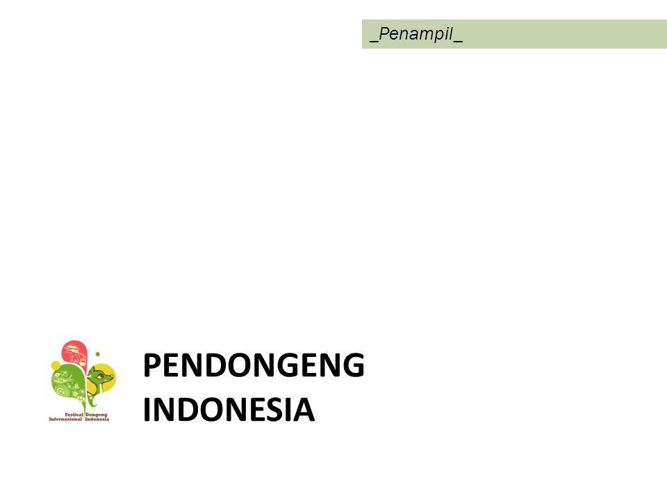 _Penampil_ PENDONGENG INDONESIA