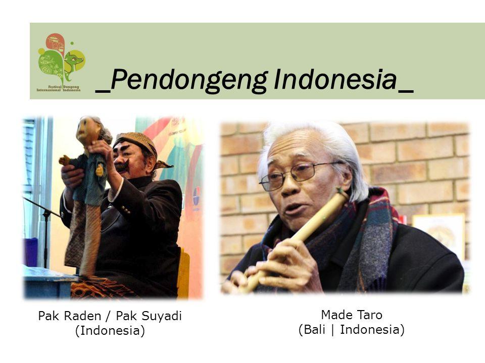 Pak Raden / Pak Suyadi (Indonesia)