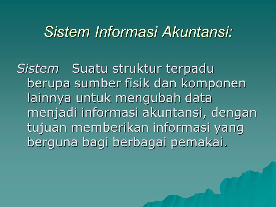 Sistem Informasi Akuntansi: