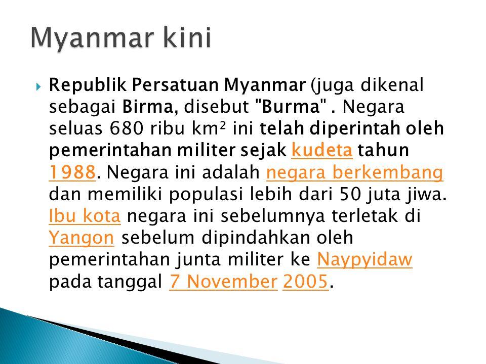 Myanmar kini