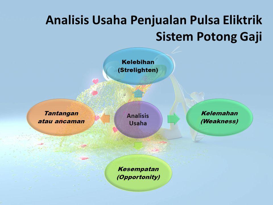 Analisis Usaha Penjualan Pulsa Eliktrik Sistem Potong Gaji