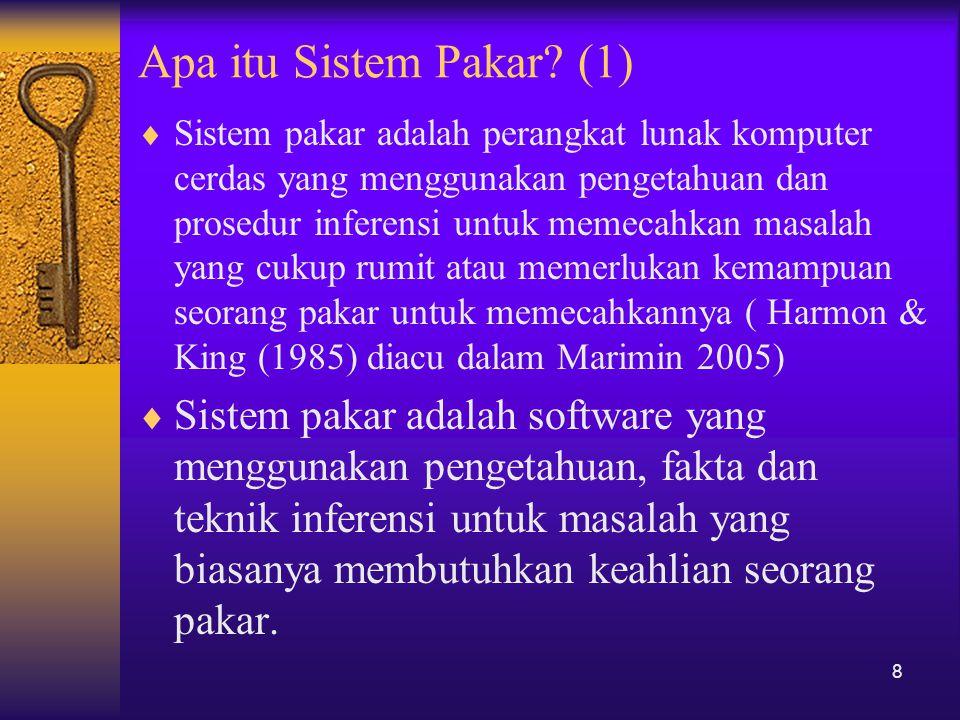 Apa itu Sistem Pakar (1)