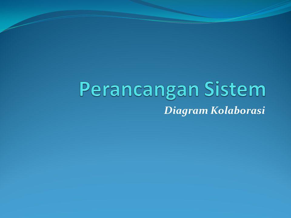 Perancangan Sistem Diagram Kolaborasi