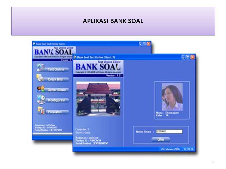 APLIKASI BANK SOAL