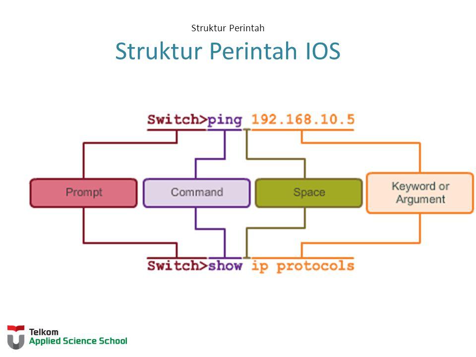 Struktur Perintah Struktur Perintah IOS