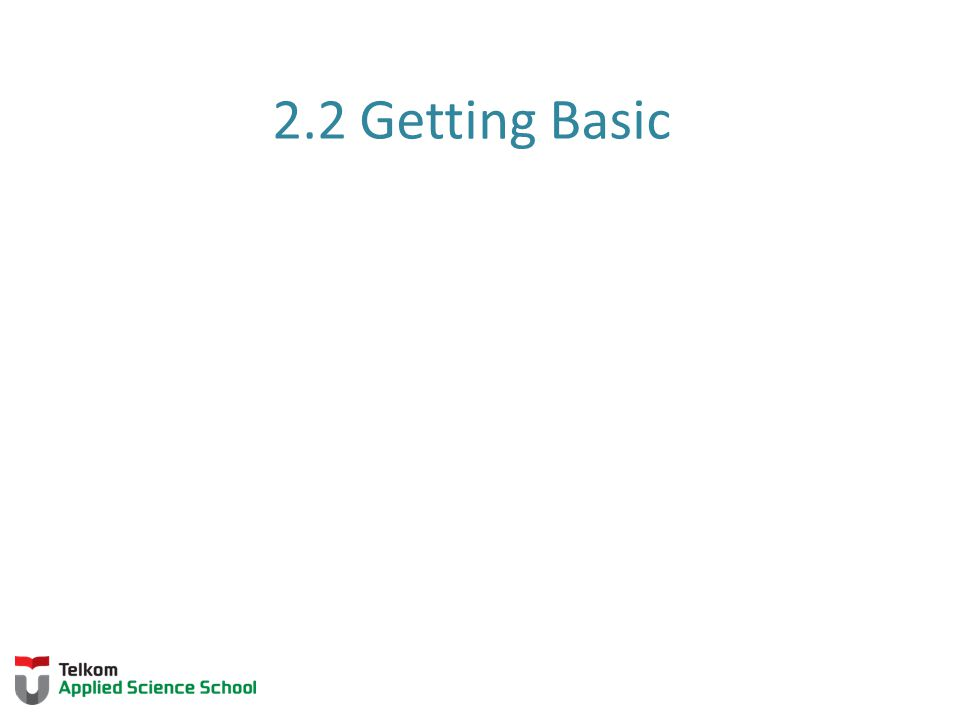 2.2 Getting Basic 2.1.1.1 Introduction to Cisco IOS