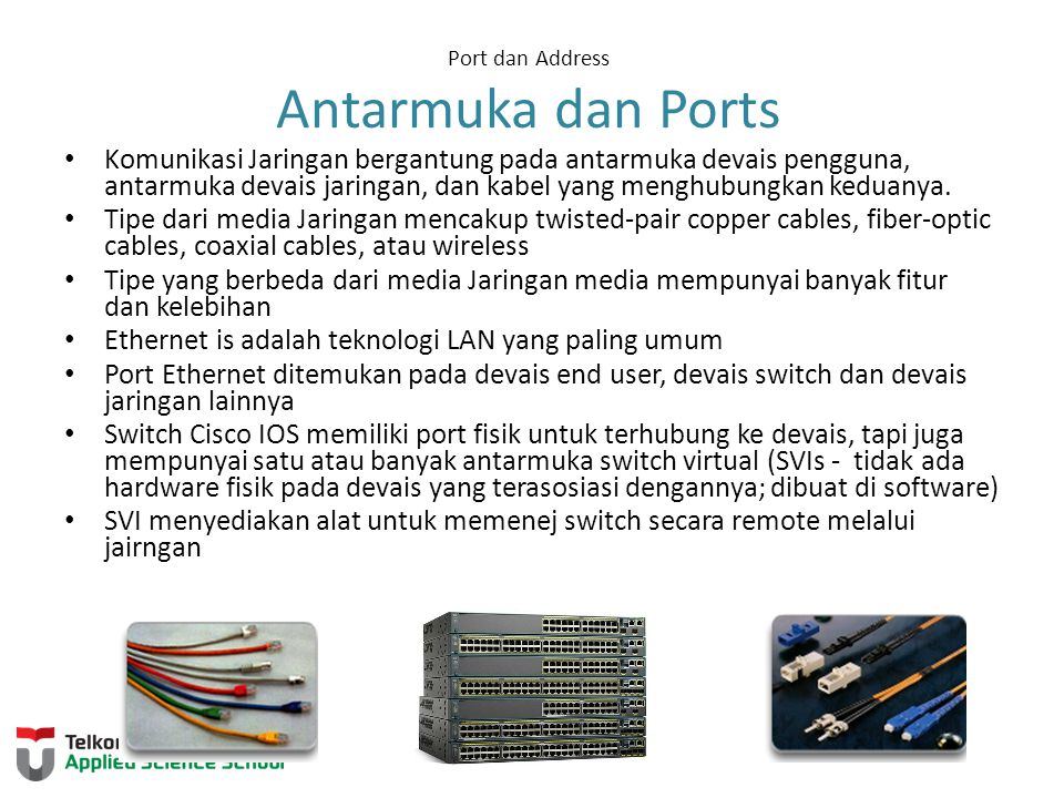 Port dan Address Antarmuka dan Ports
