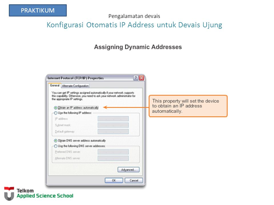 Pengalamatan devais Konfigurasi Otomatis IP Address untuk Devais Ujung