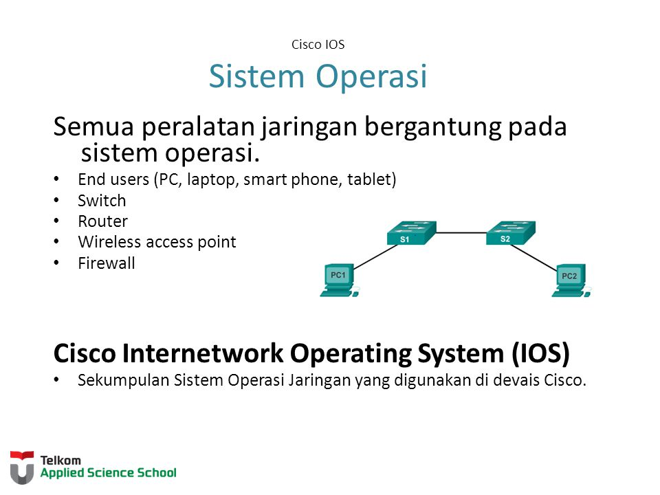 Cisco IOS Sistem Operasi