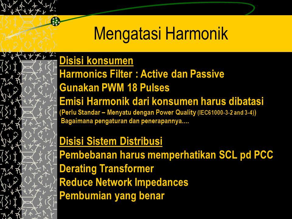 Mengatasi Harmonik