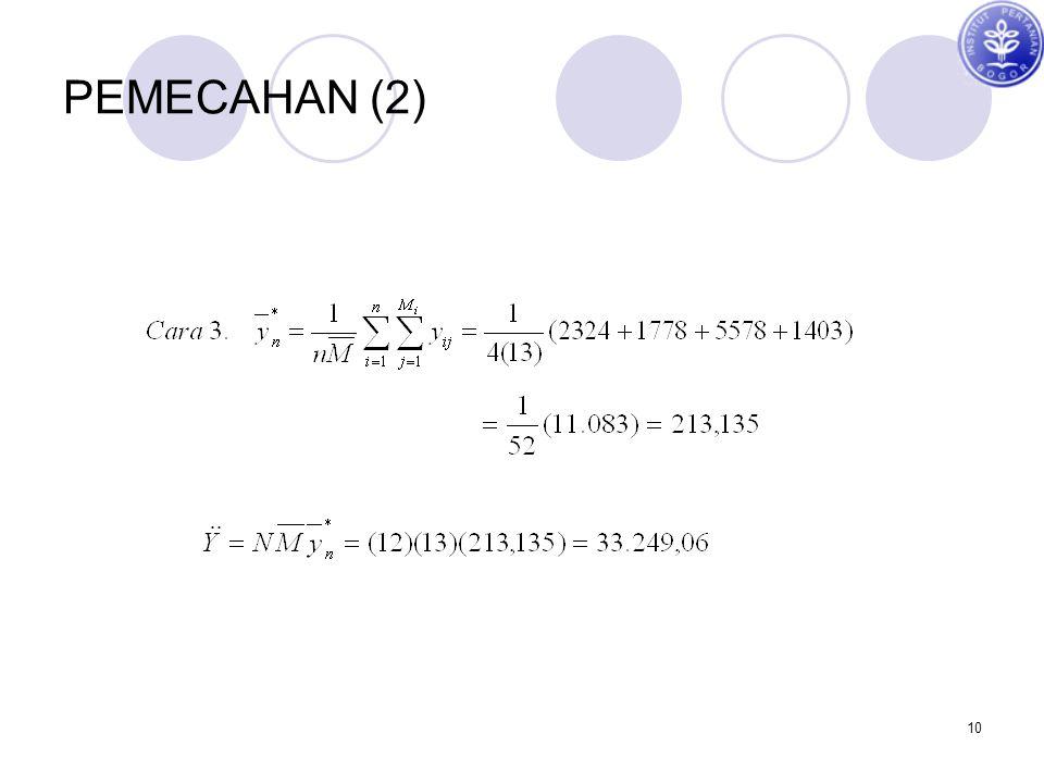 PEMECAHAN (2)