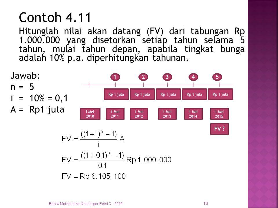 Contoh 4.11