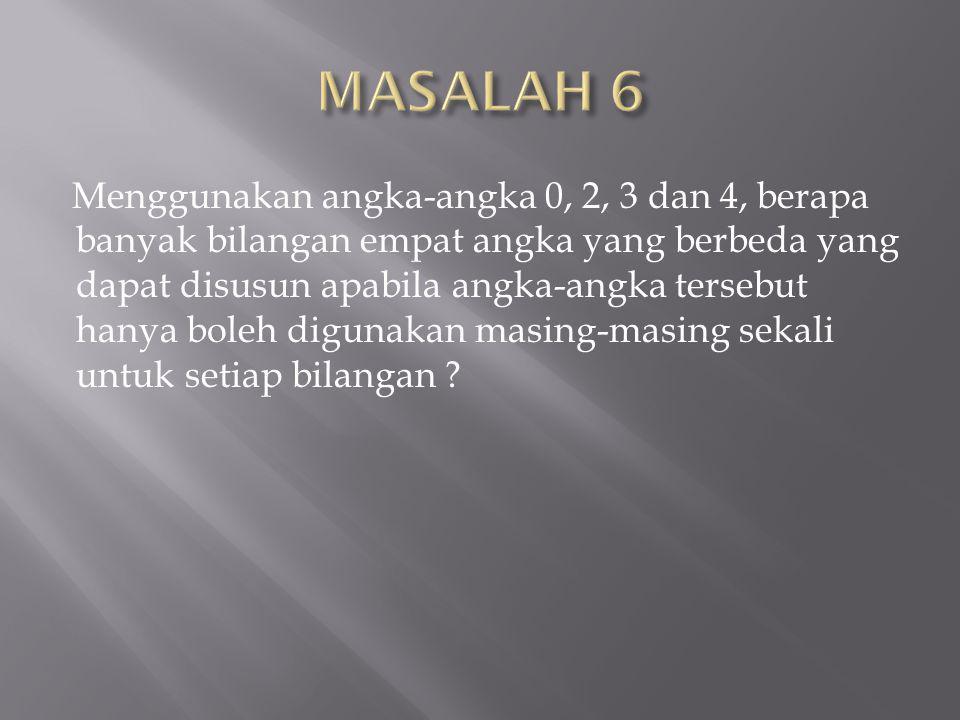 MASALAH 6