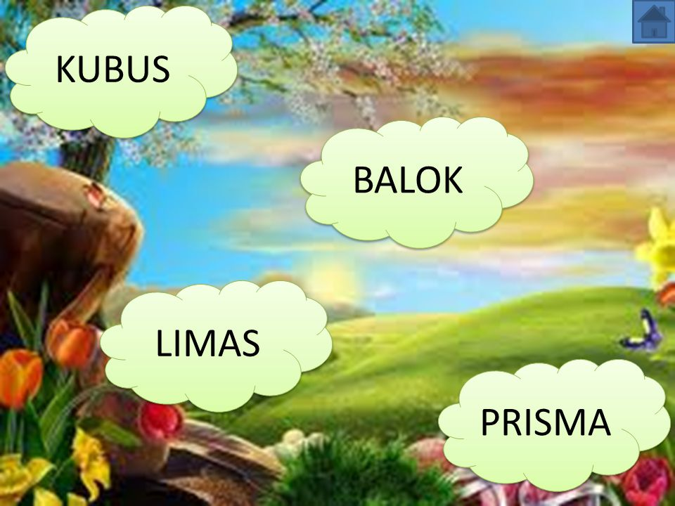 KUBUS BALOK LIMAS PRISMA