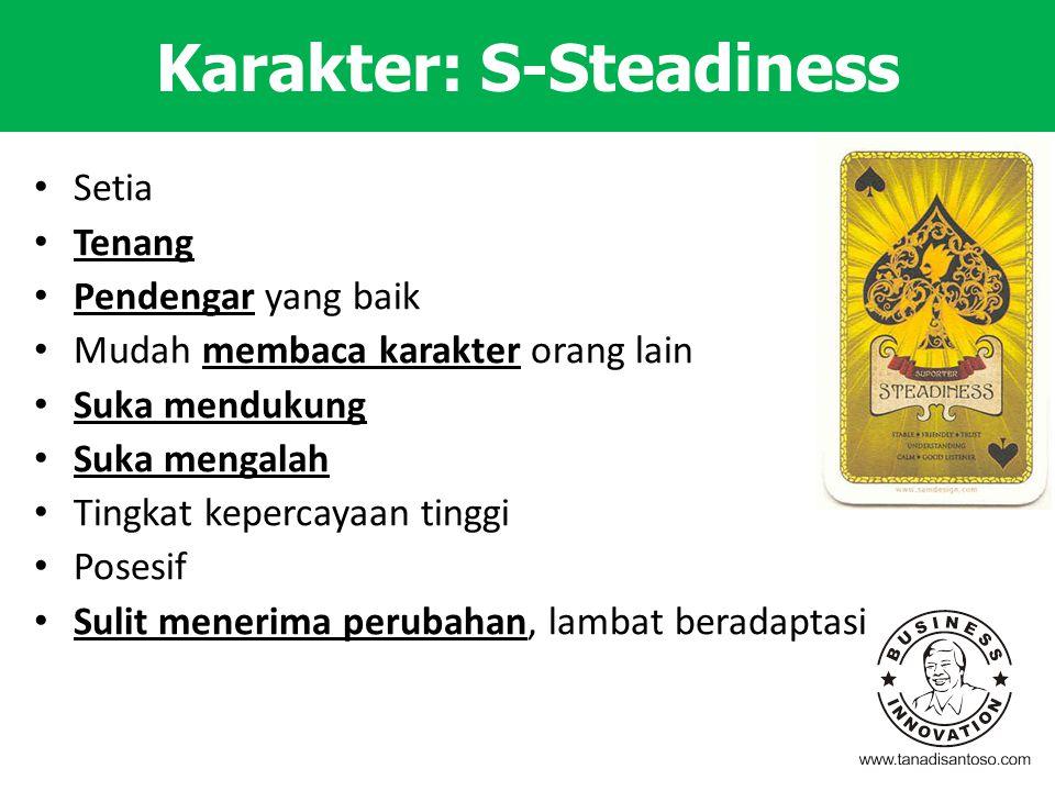 Karakter: S-Steadiness