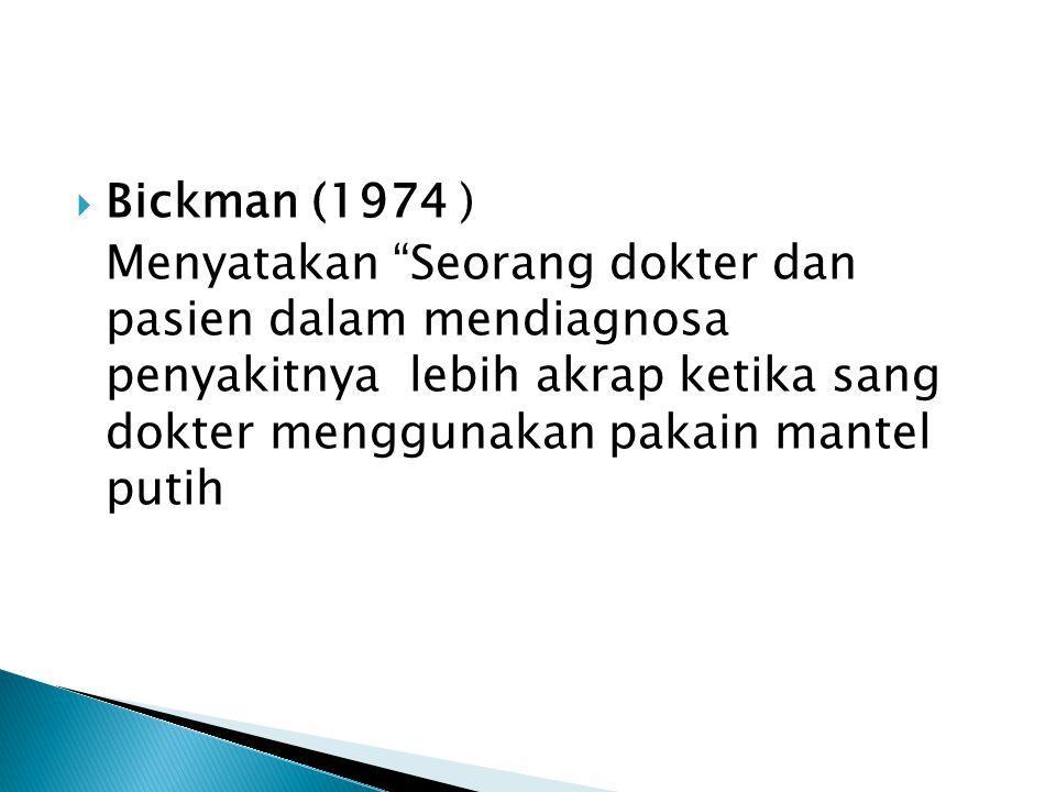 Bickman (1974 )