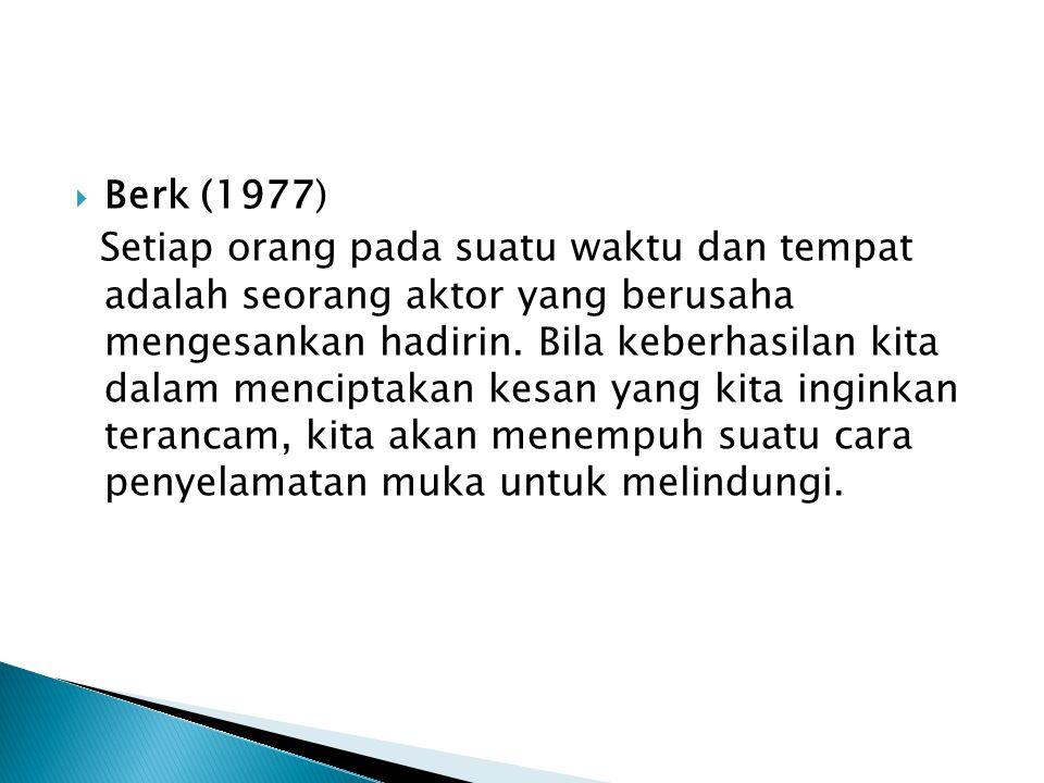 Berk (1977)