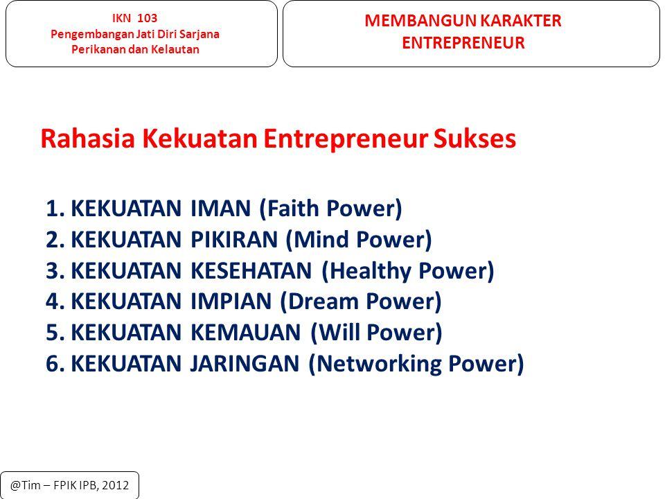 Rahasia Kekuatan Entrepreneur Sukses