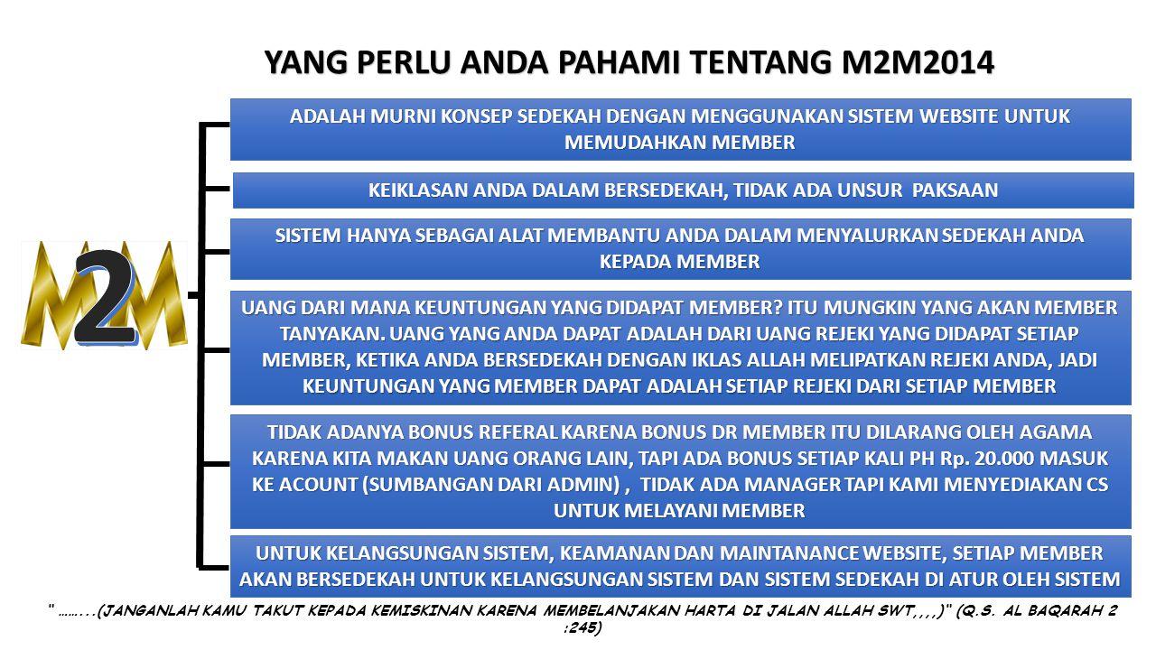 2 YANG PERLU ANDA PAHAMI TENTANG M2M2014