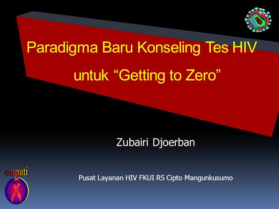 Paradigma Baru Konseling Tes HIV untuk Getting to Zero