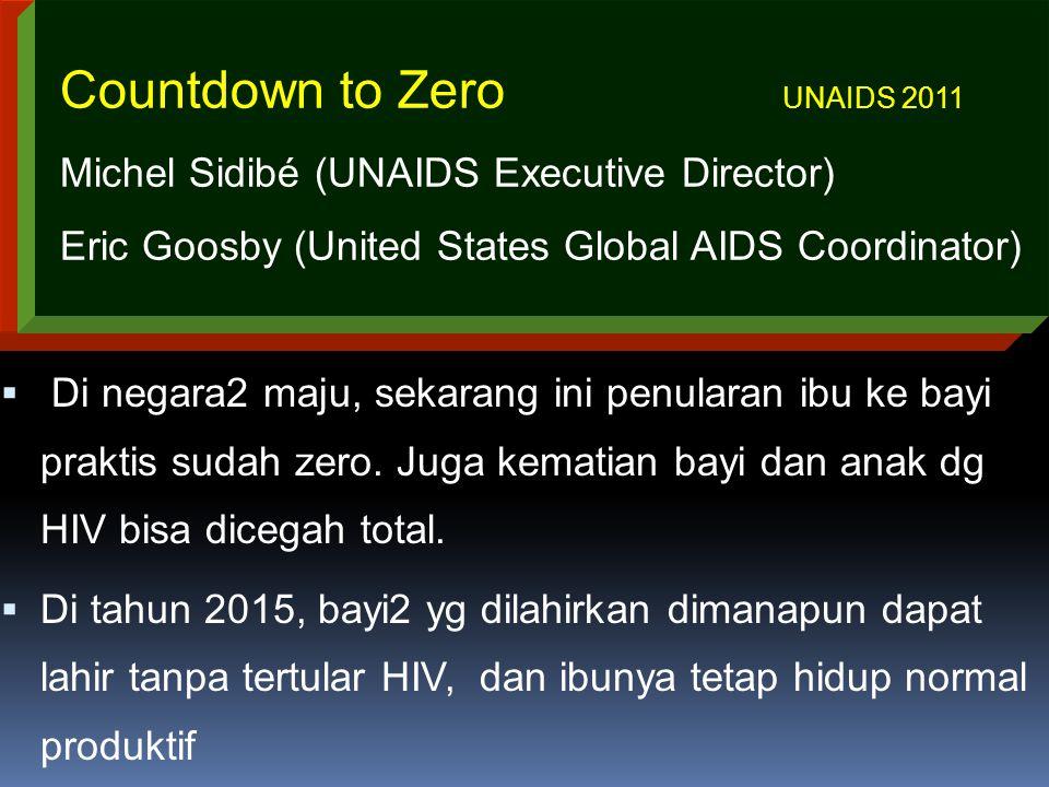 Terima kasih Countdown to Zero UNAIDS 2011